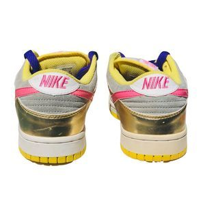 Nike Shoes - Nike SB Dunk Vtg Gold Pink Womens 8 Shoes Sneaker